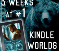 #1 for Three Weeks in Kindle Worlds!