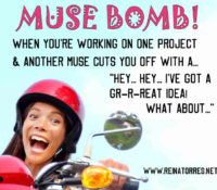 Not a Photo Bomb…. I'm Talking about a Muse Bomb!