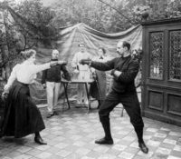 Up In the Air: Fencing Lessons in Paris